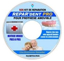 dvd réparation dentier cassé