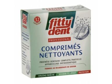 FITTYDENT COMPRIMÉS NETTOYANTS BOITE DE 32