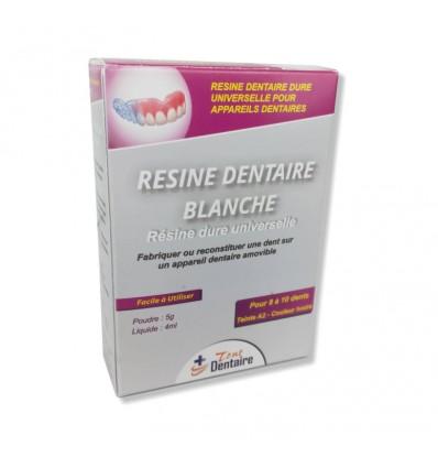 Résine Blanche (Poudre + Liquide)