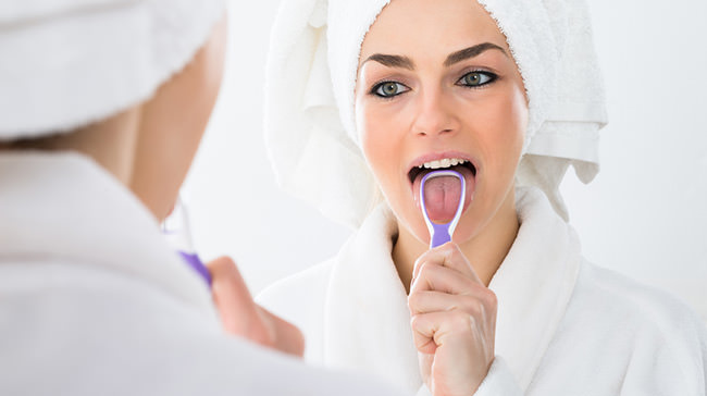 gratte langue